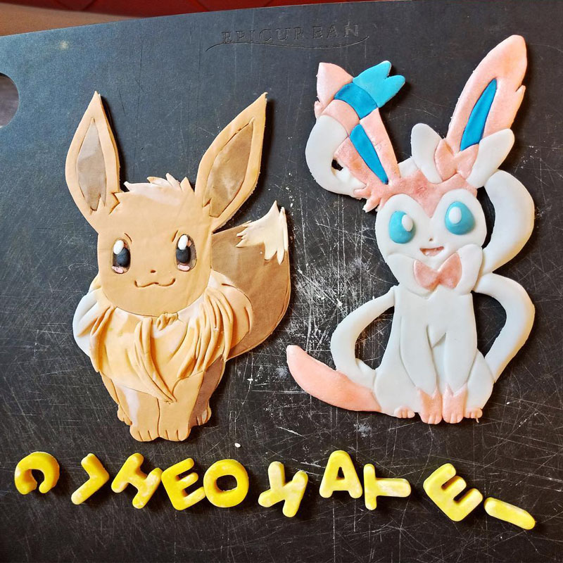 HANDCRAFTED POKEMONS