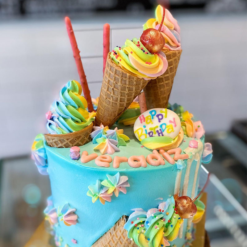 CUSTOM CAKE ICE-CREAM