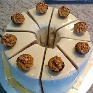 Espresso Souflfe Cake