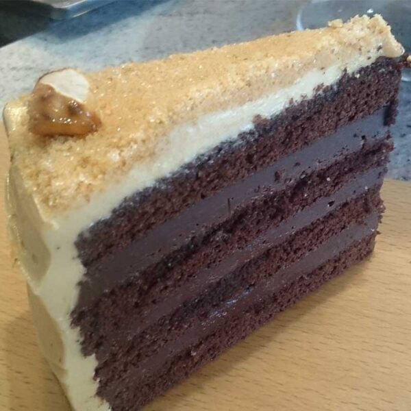 Nuts About You Cake