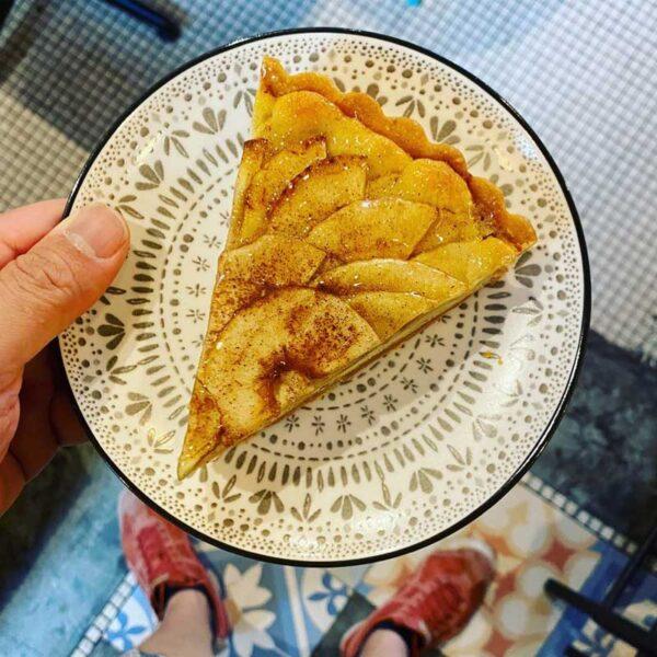 French Apple Tarte Slice