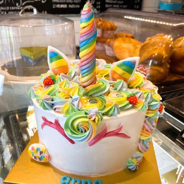 Custom Unicorn Cake. Order Online.