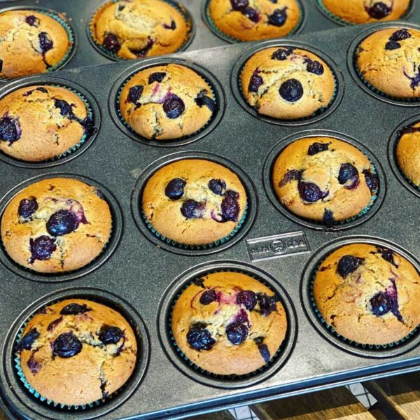 Petit Four Blueberry Muffin