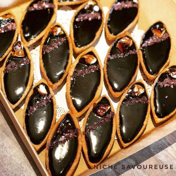 Petit Four Dark Chocolate Tarte